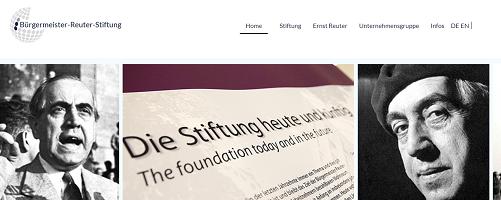 Bürgermeister Reuter Stiftung